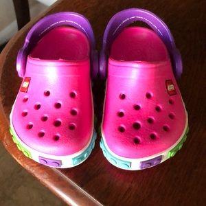 a0a4236491437d CROCS Shoes - 🌟3 For  10🌟 Pink LEGO Crocs Size 4